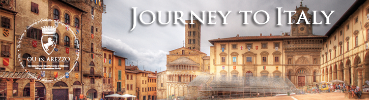 Journey to Italy header